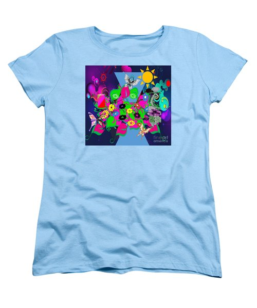 Life Full Of Experiences Women's T-Shirt (Standard Cut) by Belinda Threeths