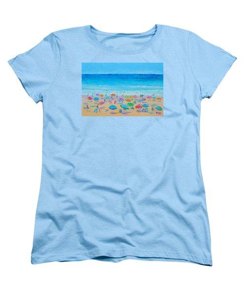 Life On The Beach Women's T-Shirt (Standard Cut) by Jan Matson