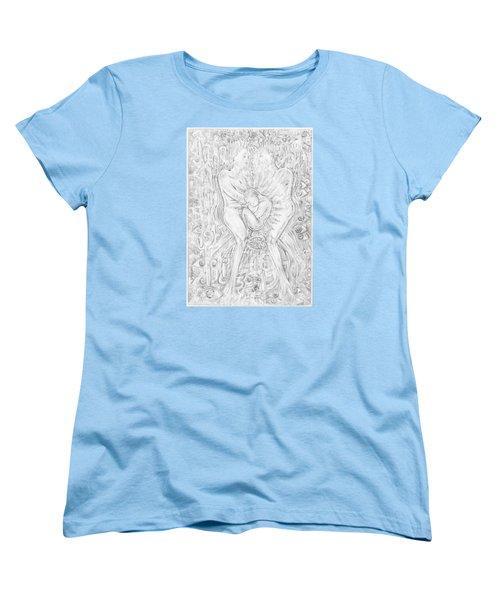 Life Series 5 Women's T-Shirt (Standard Cut) by Giovanni Caputo