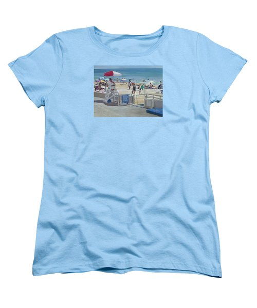 Lifeguard On Duty Women's T-Shirt (Standard Cut)