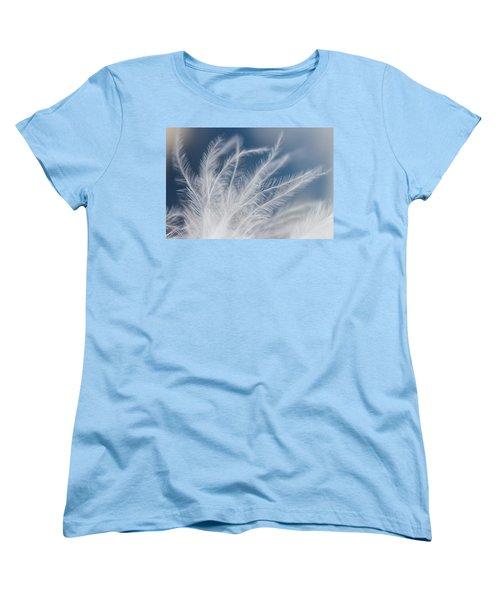Light As A Feather Women's T-Shirt (Standard Cut) by Yvette Van Teeffelen