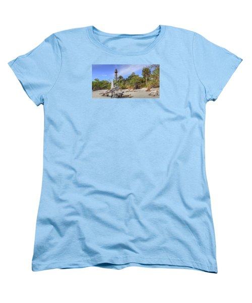 Light Behind The Stump Women's T-Shirt (Standard Cut) by Sean Allen