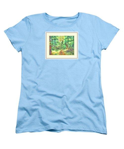 Light On The Path Women's T-Shirt (Standard Cut) by Shirley Moravec