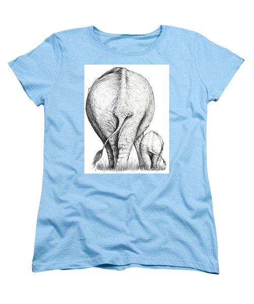 Like Mother Like Son Women's T-Shirt (Standard Cut) by Heidi Kriel