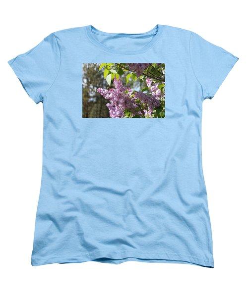 Women's T-Shirt (Standard Cut) featuring the photograph Lilacs 5545 by Antonio Romero