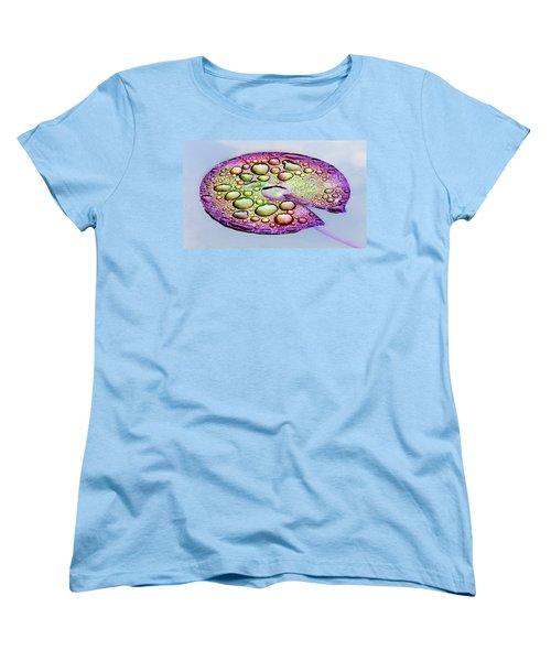Lillypad Women's T-Shirt (Standard Cut) by Robert Meanor