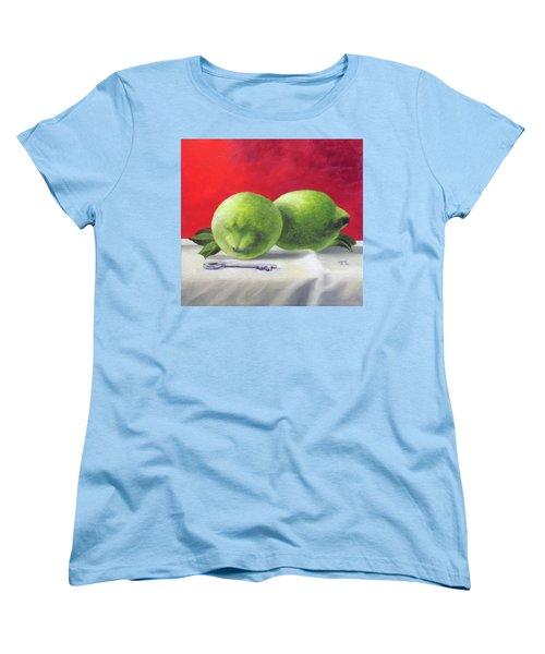 Limes Women's T-Shirt (Standard Cut) by Tim Johnson