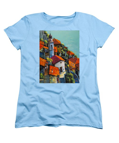 Limone Del Garda Women's T-Shirt (Standard Cut) by Mikhail Zarovny
