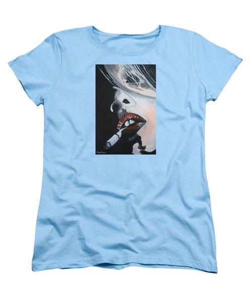 Lips Like Cherries Women's T-Shirt (Standard Cut)