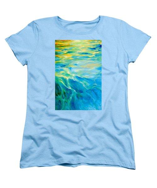 Liquid Gold Women's T-Shirt (Standard Cut) by Dina Dargo