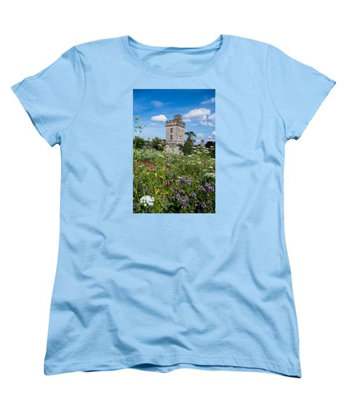 Lismore Castle Gardens Women's T-Shirt (Standard Cut) by Martina Fagan