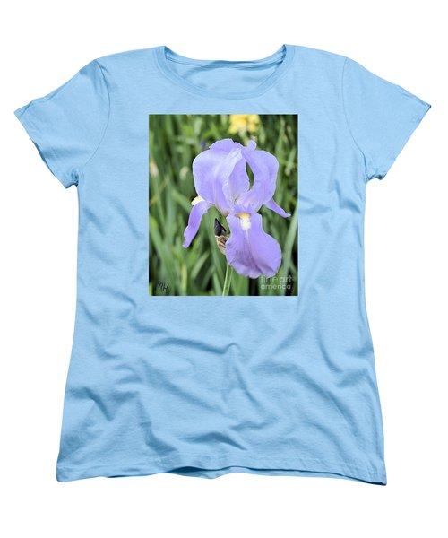 Lissy Iris Women's T-Shirt (Standard Cut) by Marsha Heiken