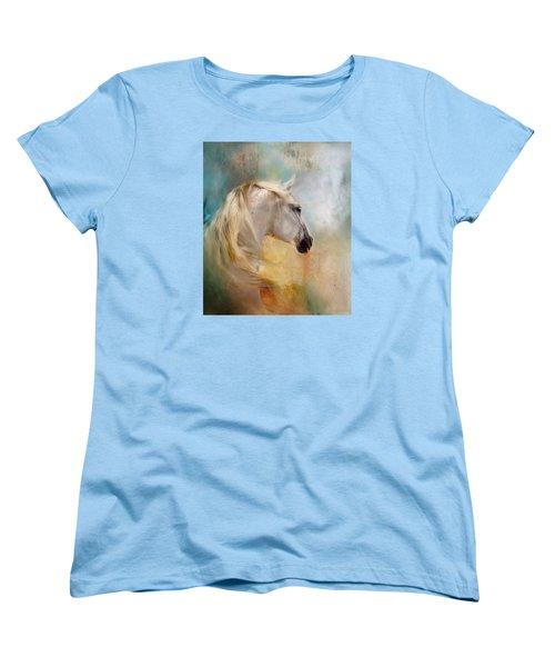 Listen To The Wind- Harley Women's T-Shirt (Standard Cut) by Dorota Kudyba