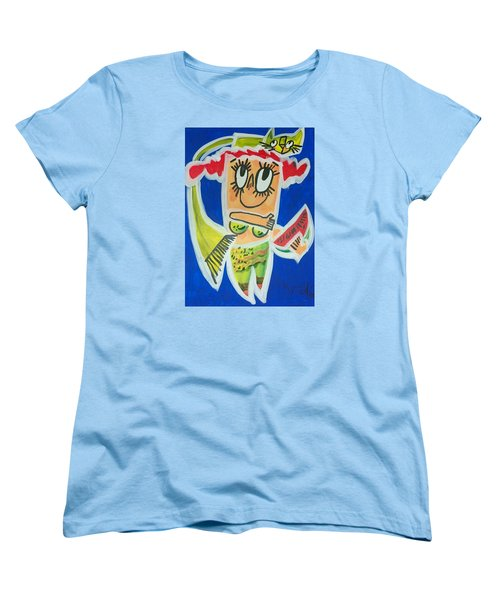 Little Mermaid Women's T-Shirt (Standard Cut) by Artists With Autism Inc