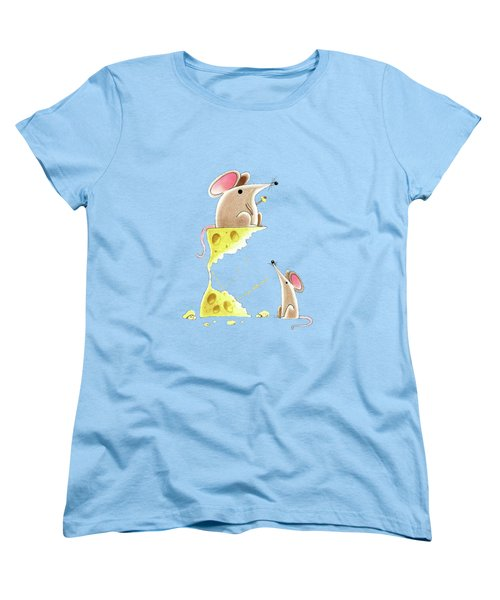 Living Dangerously  Women's T-Shirt (Standard Cut) by Andrew Hitchen