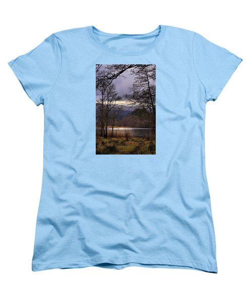 Women's T-Shirt (Standard Cut) featuring the photograph Loch Venachar by Jeremy Lavender Photography