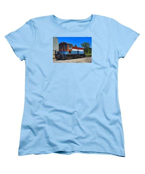 Locomotive Women's T-Shirt (Standard Cut) by Ronald Olivier
