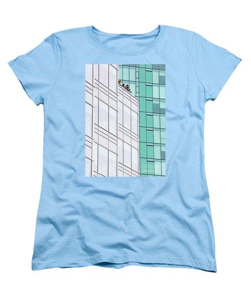 Women's T-Shirt (Standard Cut) featuring the photograph Lofty View by Chris Dutton