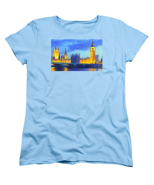 London 1 Women's T-Shirt (Standard Cut) by Caito Junqueira