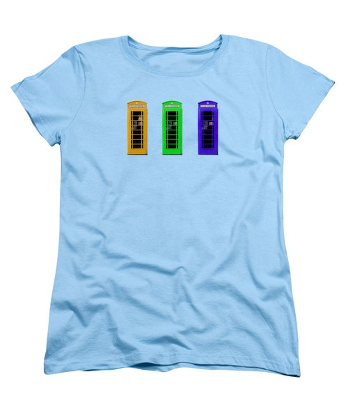 London Telephone Boxes Women's T-Shirt (Standard Cut)