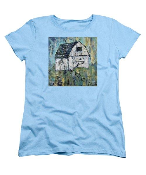 Lone Barn Women's T-Shirt (Standard Cut) by Kirsten Reed