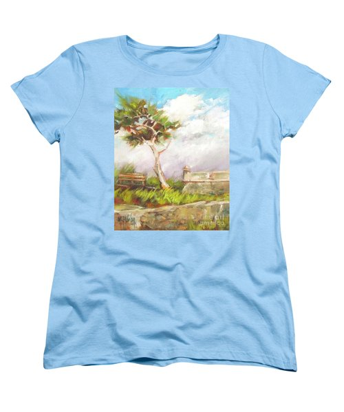 Lone Cedar Women's T-Shirt (Standard Cut) by Mary Hubley