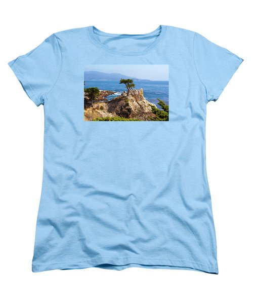 Lone Cypress Women's T-Shirt (Standard Cut) by Lou Ford