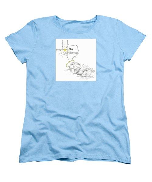 Lone Star State Of Fear Women's T-Shirt (Standard Cut) by Steve Hunter