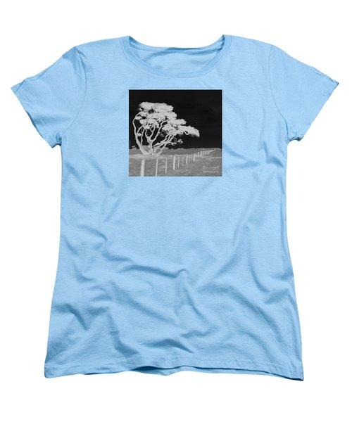 Lone Tree, West Coast Women's T-Shirt (Standard Cut) by Nareeta Martin