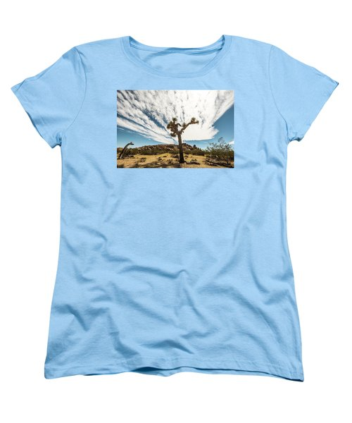 Lonely Joshua Tree Women's T-Shirt (Standard Cut) by Amyn Nasser