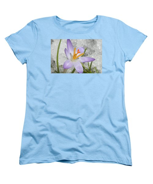 Women's T-Shirt (Standard Cut) featuring the digital art Look To The Sun by Barbara S Nickerson