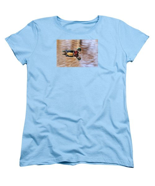 Looking At Me Women's T-Shirt (Standard Cut) by Lynn Hopwood