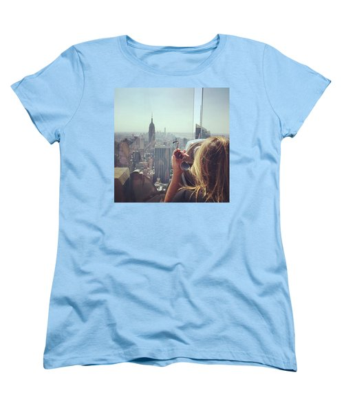 Looking Downtown In Style. #nyc Women's T-Shirt (Standard Cut) by Missy Davis