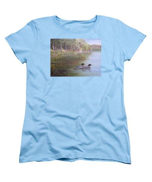 Loon Family 1 Women's T-Shirt (Standard Cut)