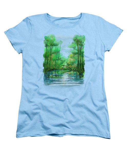 Lost In Colors  Women's T-Shirt (Standard Cut) by Ivana Westin