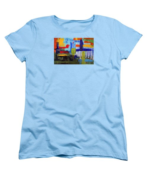 Lost In Forest Women's T-Shirt (Standard Cut) by Haleh Mahbod
