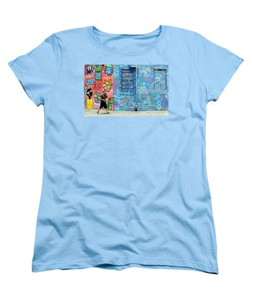 Lost In Translation Women's T-Shirt (Standard Cut) by Keith Armstrong