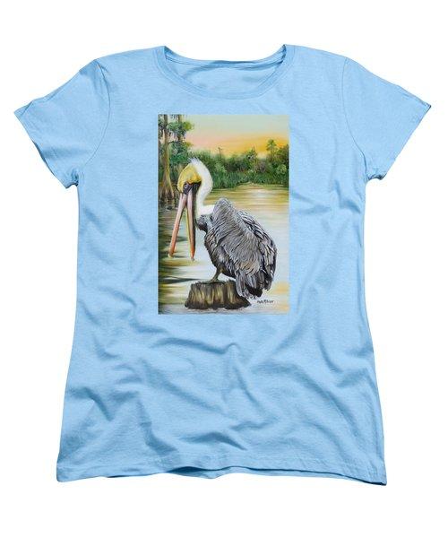 Louisiana Sunrise Women's T-Shirt (Standard Cut) by Phyllis Beiser