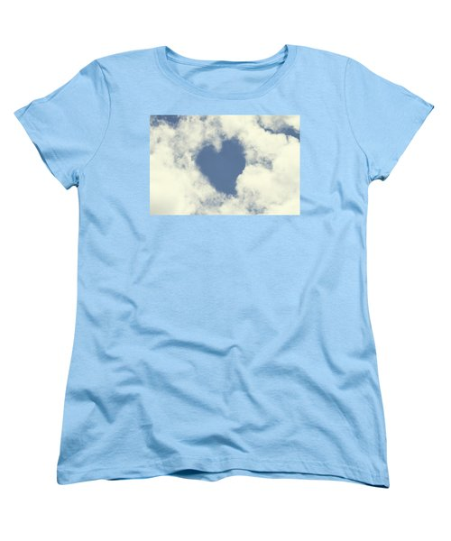 Women's T-Shirt (Standard Cut) featuring the photograph Love Is In The Air by Peggy Collins