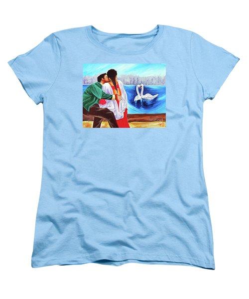 Love Undefined Women's T-Shirt (Standard Cut) by Ragunath Venkatraman