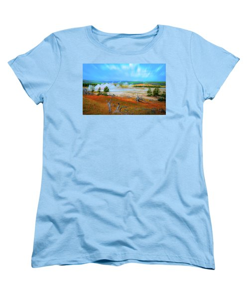 Lower Basin Women's T-Shirt (Standard Cut) by Mark Dunton