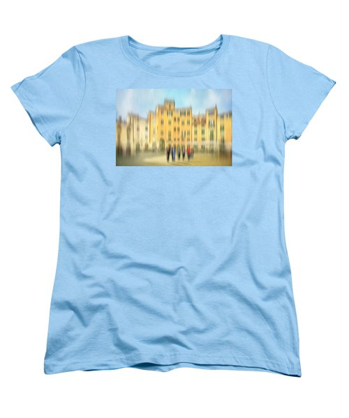 Lucca Ampitheatre Impression 2 Women's T-Shirt (Standard Cut) by Marty Garland