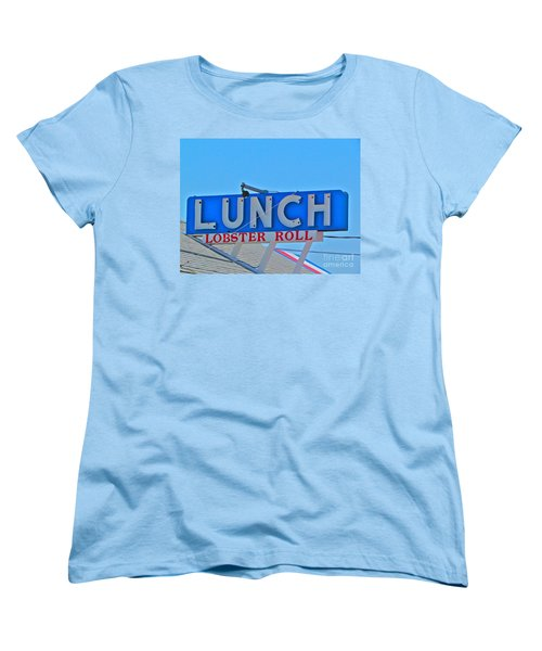 Lunch Women's T-Shirt (Standard Cut) by Beth Saffer