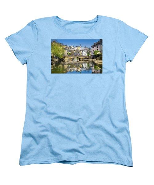 Luxembourg City Women's T-Shirt (Standard Cut) by JR Photography