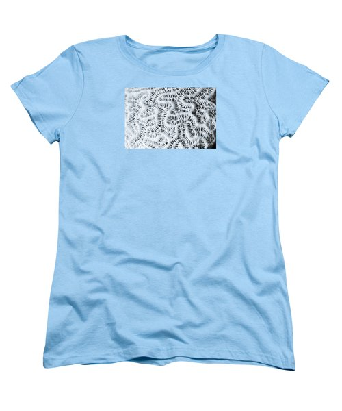 Macro Of Sunbleached Piece Of Dead Coral, Women's T-Shirt (Standard Cut) by Perry Van Munster
