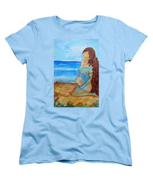 Made Of Water Women's T-Shirt (Standard Cut) by Gioia Albano