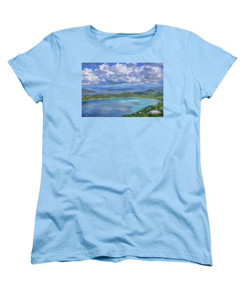 Magens Bay  Women's T-Shirt (Standard Cut) by Olga Hamilton