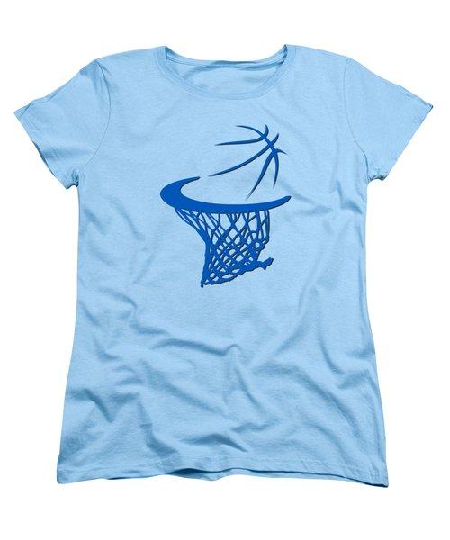 Magic Basketball Hoop Women's T-Shirt (Standard Cut) by Joe Hamilton