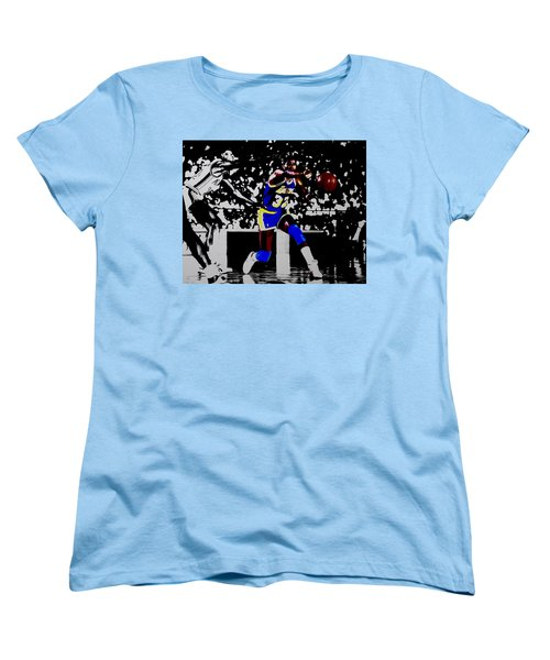 Magic Johnson Bounce Pass Women's T-Shirt (Standard Cut)