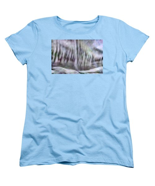 Symphony In Pastel Colors Women's T-Shirt (Standard Cut) by Yulia Kazansky